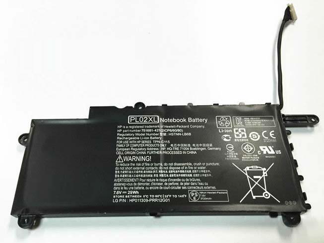 Batteria HP PL02XL
